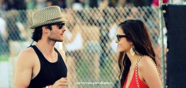 Ian et Nina lors du 3ème jour du festival Coachella. Ils sont tellement mignons! ;)