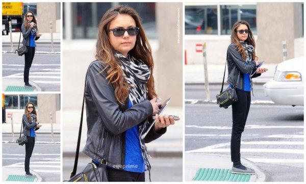 Le 7 mai, Nina a été vue attendant un taxi dans les rues de New-York