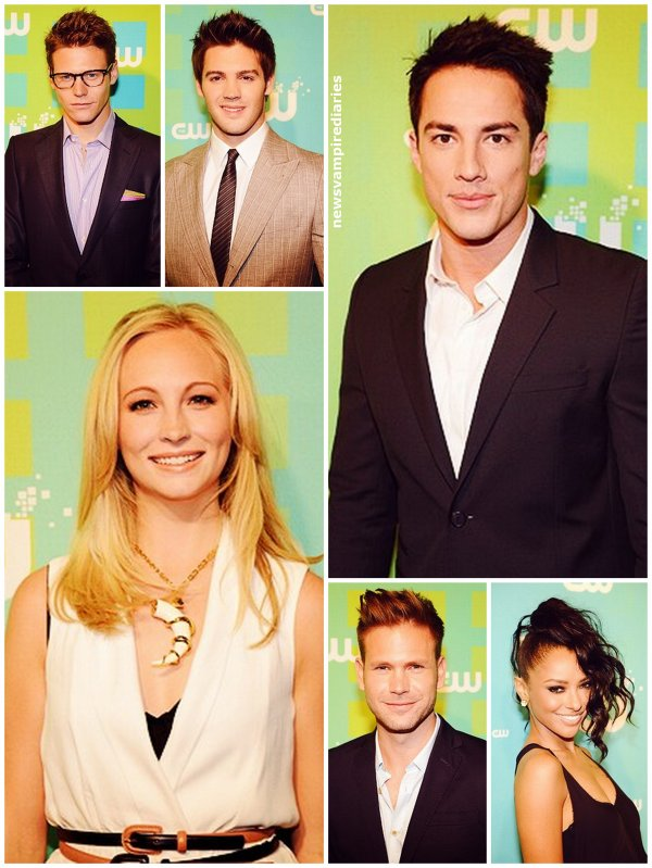 Le 17 mai, Nina Dobrev, Paul Wesley, Ian Somerhalder, Candice Accola, Katerina Graham, Zach Roerig, Michael Trevino, Steven R. McQueen et Torrey Devitto se sont rendus à l'évènement CW Network's 2012 Upfront