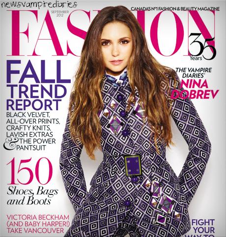 """Voici la vidéo du nouveau shoot de Nina pour """"Fashion Magazine"""""""