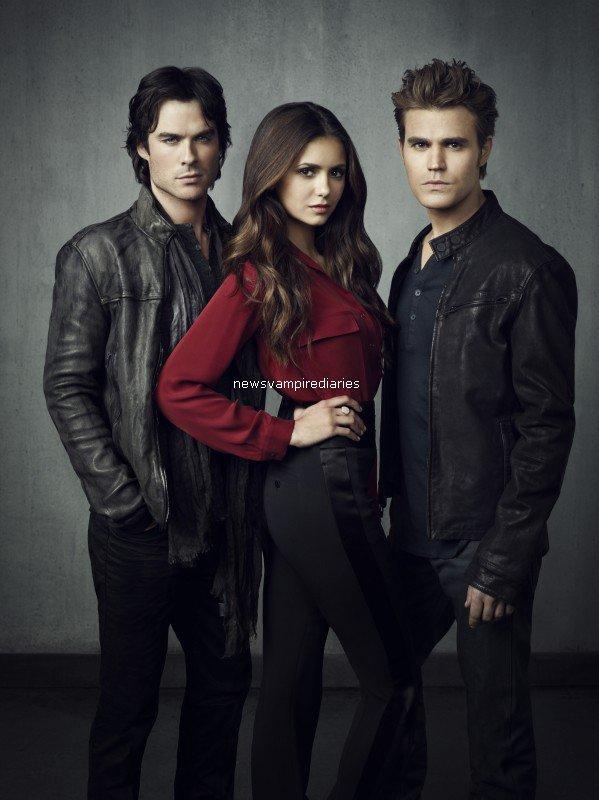 Voici une photo de Vampire Diaries! J'aime beaucoup, et vous?