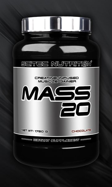 MASS 20 Muscle gainer a infusion de créatine