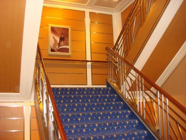 escalier!!