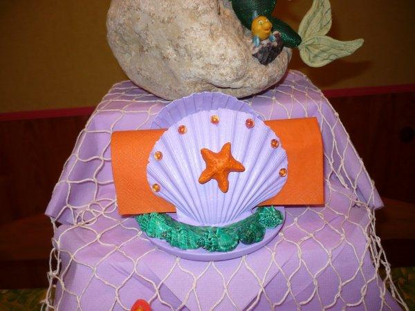 Décoration de table pour l'anniversaire de ma petite fille