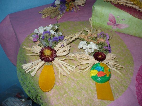 épis de blé décorés
