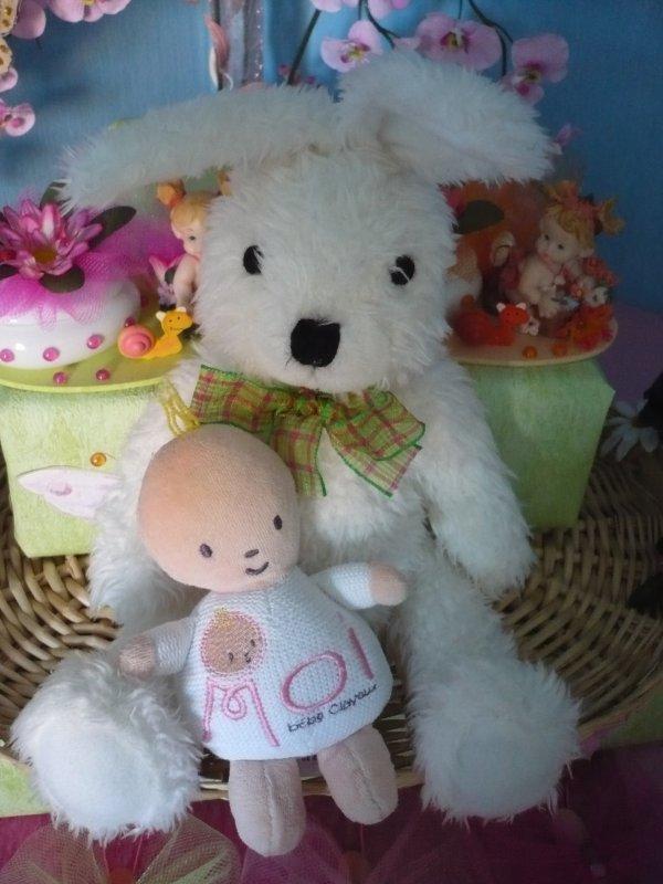decors de naissance martin le lapin et tintin