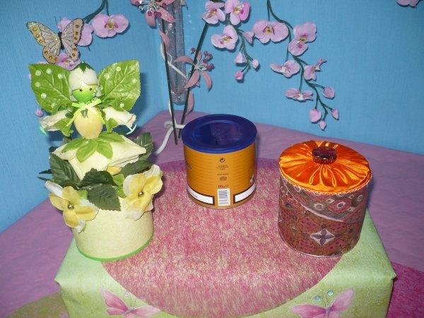 des boites décorées