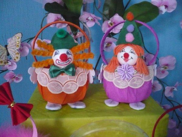paniers clows
