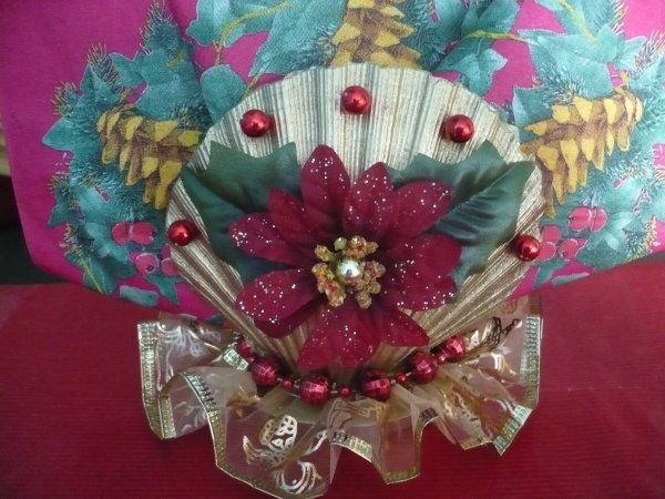decors fleur et perles