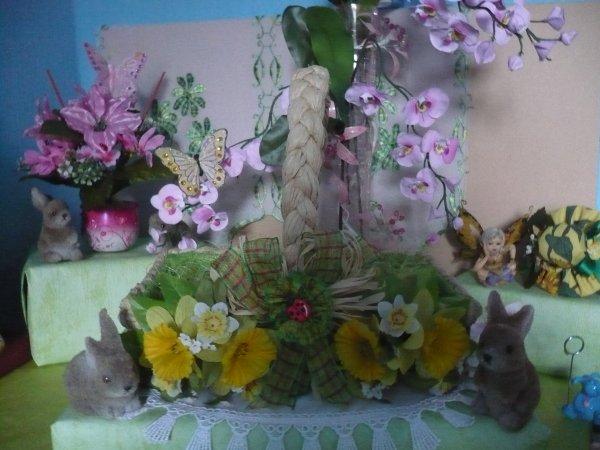 Un joli panier de printemps