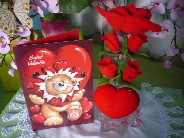 Je vous souhaite une bonne fête de la saint Valentin