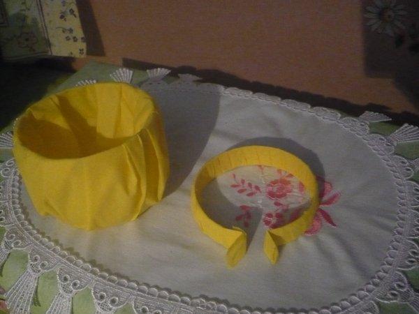 Des petits paniers décorés pour Pâques