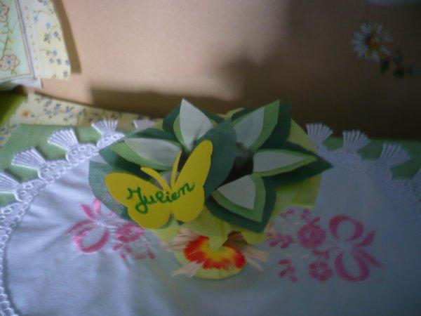 Un joli porte serviette pour Pâques