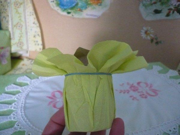 Le porte serviette vert