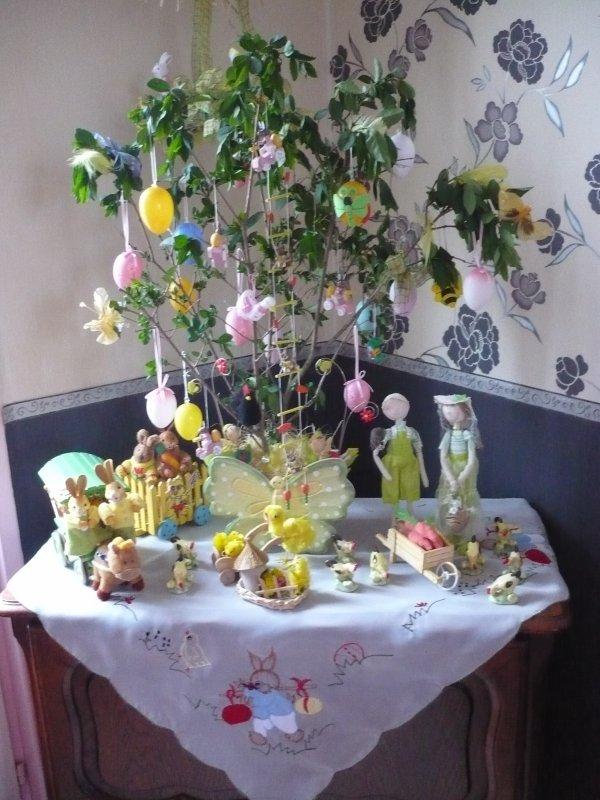 Mon bel arbre de Pâques .