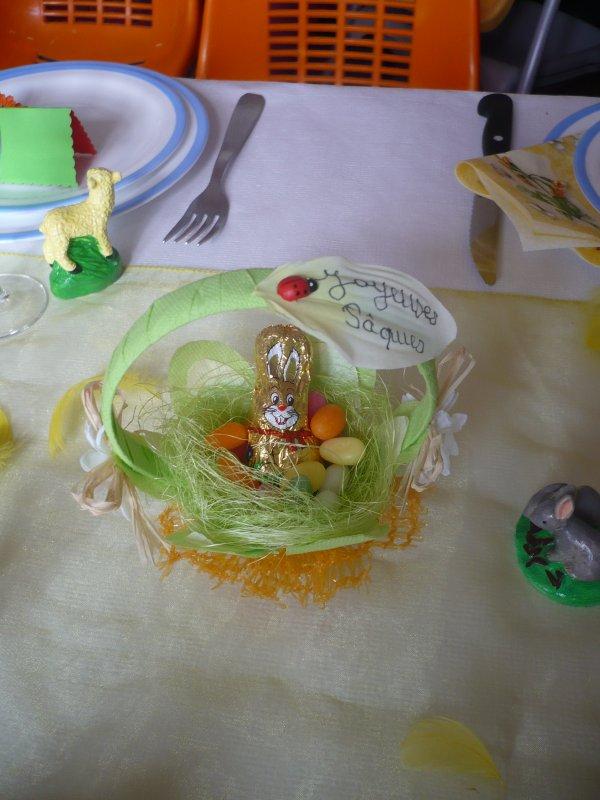 Suite de la décoration de Pâques !