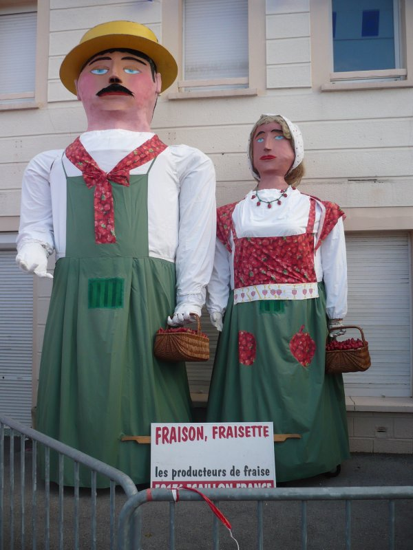 Fraison et Fraisette .