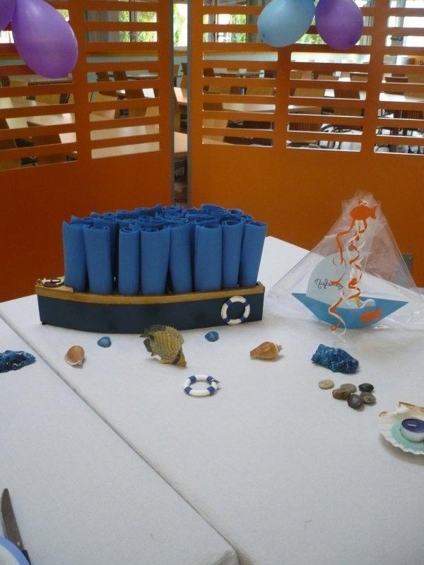 La table d' anniversaire de Mylène .
