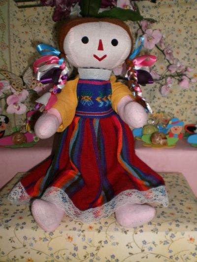 Une poupée mexicaine .