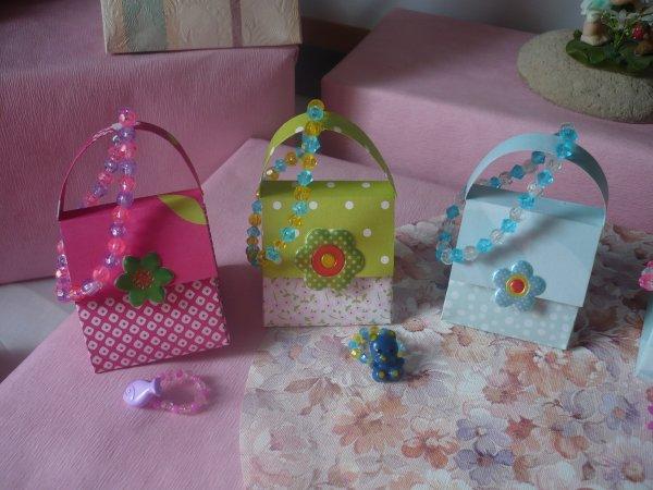 Des minis sacs à main cadeaux,encore plus petits !!!