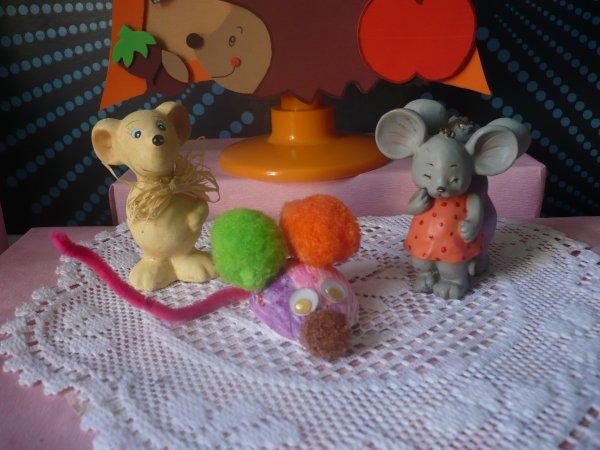 Une petite souris pas comme les autres !!!!