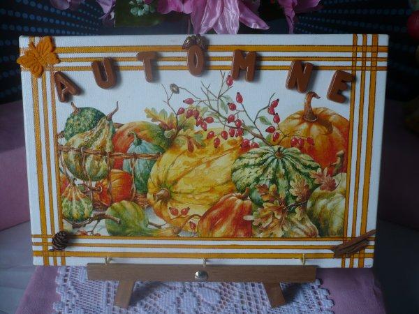 Echange d' automne !!!! Cadeaux reçus .