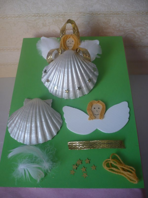 Un ange coquille !!!
