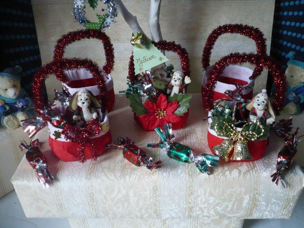 Des petits paniers pour Noël