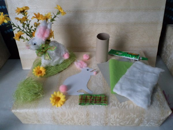 Un lapin coton