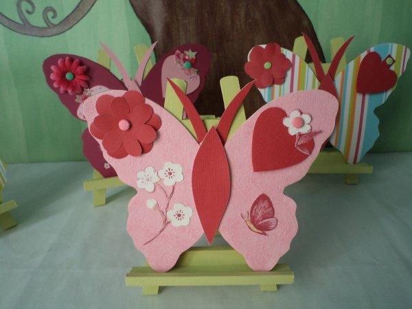 Des cartes papillons