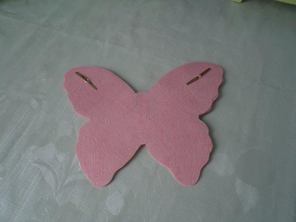 La marche à suivre de la carte papillon .