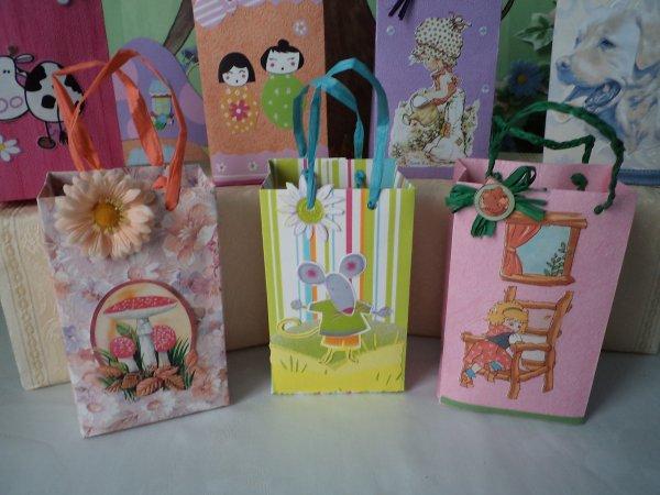 Des petits sacs cadeaux