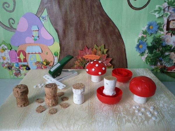 De drôles de champignons !!!