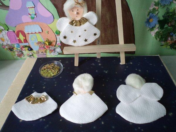 Des anges en coton