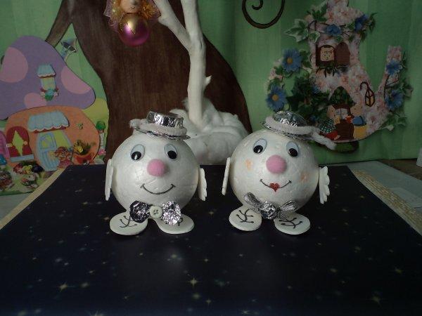 Mr et Mme Boule de neige