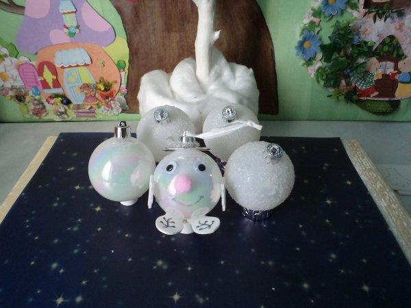 Des boules de neige rigolotes !!!