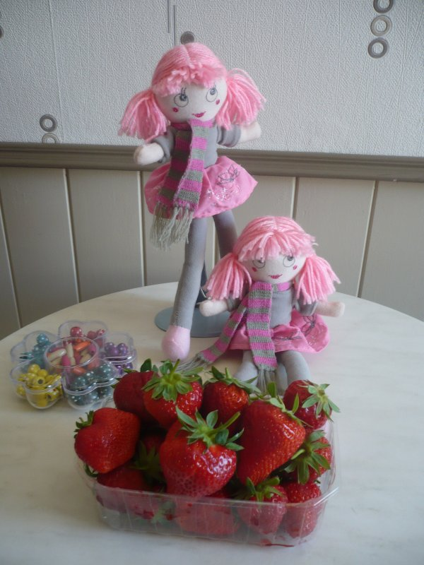 Mes petites trouvailles de la fête à la fraise .