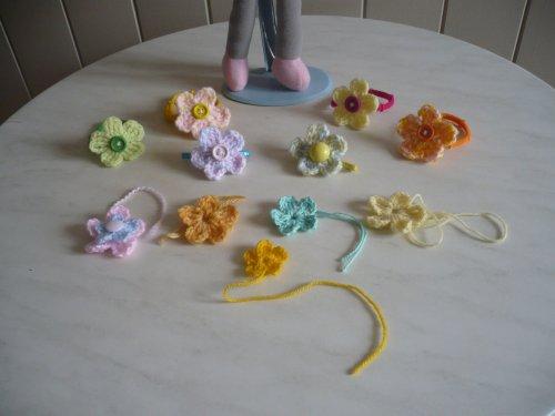 Des fleurs au crochet