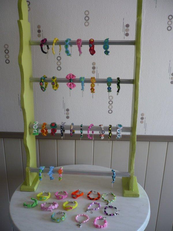 Nouveaux présentoirs pour les créations Miss Pitchounettes