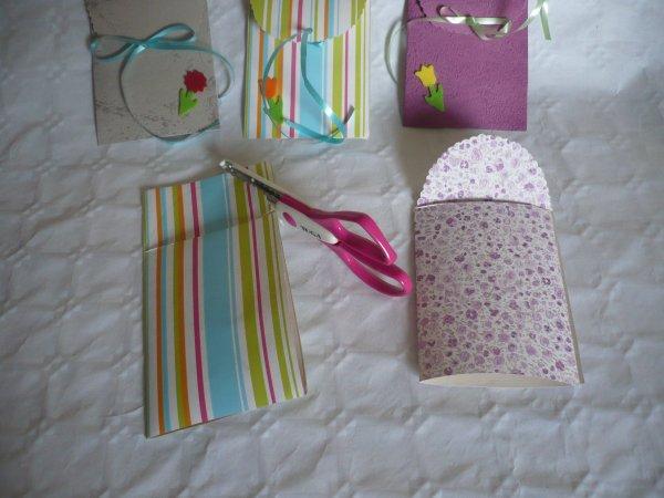 Des pochettes cadeaux