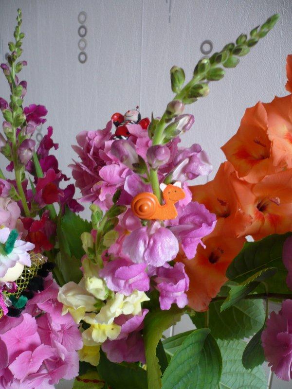 Un joli bouquet pas comme les autres ....