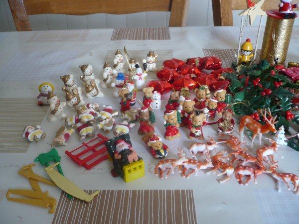 Des petits ornement de Noel .