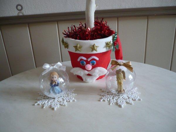 Décorations pour Noel .