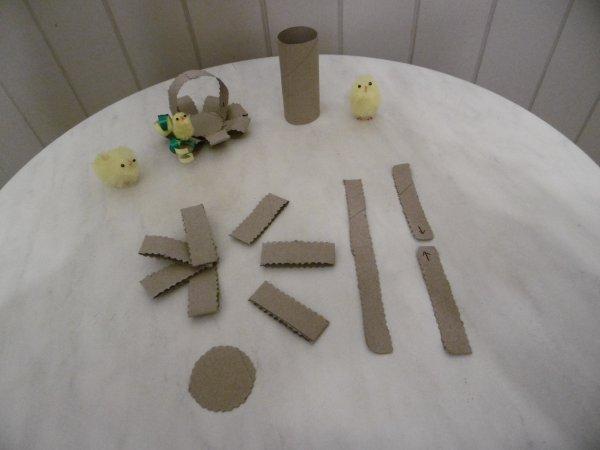 Un petit panier pour Pâques