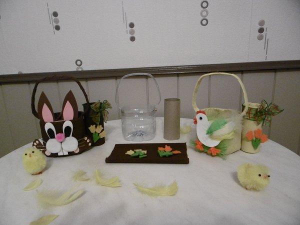Un  panier 2 en 1 pour Pâques