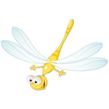 De jolies libellules sous forme de Magnet