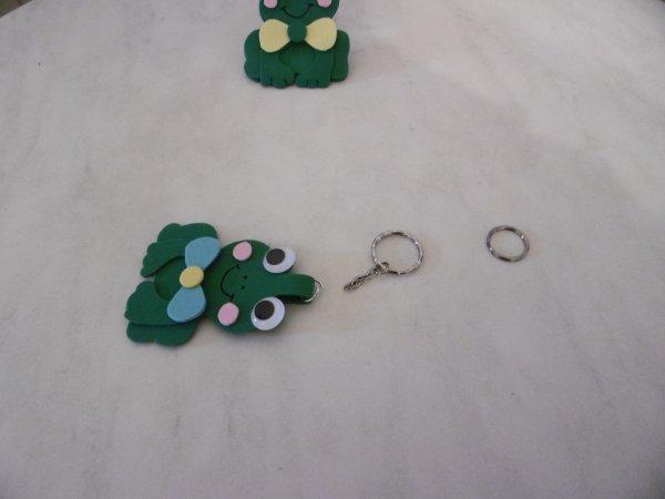Un porte-clés Grenouille