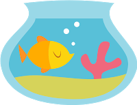 Une magnet poisson avec un bouchon