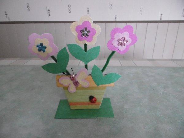 Un pot de fleur