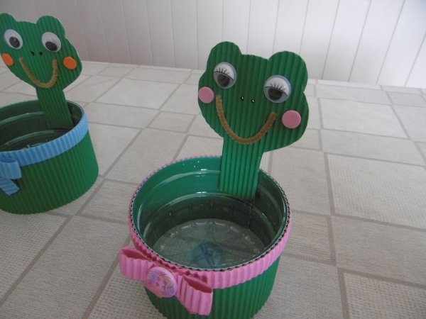 Bonbonnière grenouille